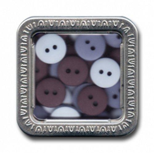 (Maya Road Trinkets Buttons in a Tin, Rain)