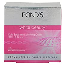 Pond's White Beauty Spot-Less Pinkish Glow Lightening Cream Reduces Dark Spot 25g by Pond's