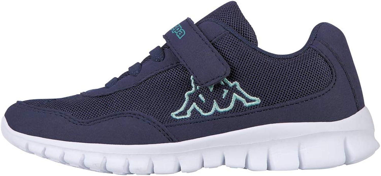 Kappa Follow Sneakers Mädchen Jungen Unisex Kinder Marineblau