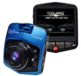TOGUARD 2.46″ LCD Full HD 1080P Dashcam Car Dvr Camera,Novatek NT96220,G-sensor,Parking Monitor,Motion Detection,Loop Recording,Night Vision