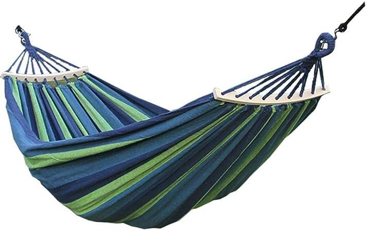 SHLYXY Hamaca con Palo De Madera Desmontable 200x100cm Jardín Colgando Hamacas Silla para Patio Camping Playa Patio Hamaca Columpio: Amazon.es: Hogar