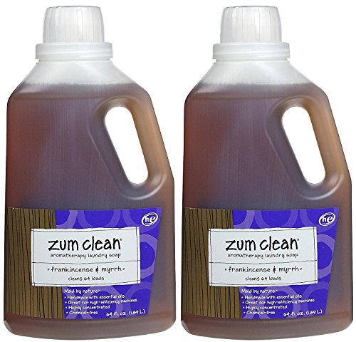 Zum Laundry Soap 64 Oz Frankincense Amp Myrrh 2 Pk