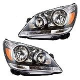 honda odyssey headlamp - Driver and Passenger Headlights Headlamps Replacement for Honda Van 33151SHJA01 33101SHJA01