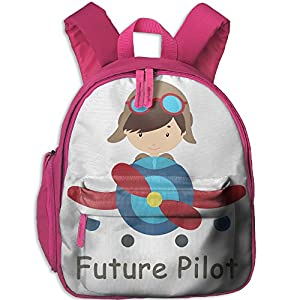 Funny Sunshine Pilot Printed Children's Shoulder Bag School Bags