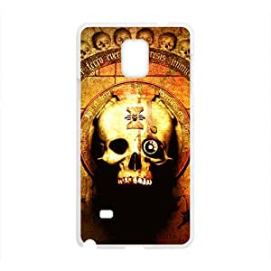 Skull Pattern Custom Protective Hard Phone Cae For Samsung Galaxy Note4