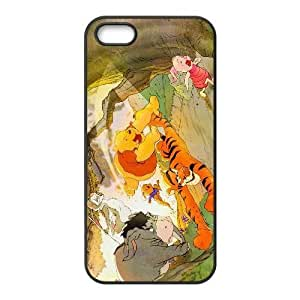iPhone 4 4s Case,[Generic] Cell Phone Case for iPhone 4 4s [Black] Tigger GH1337
