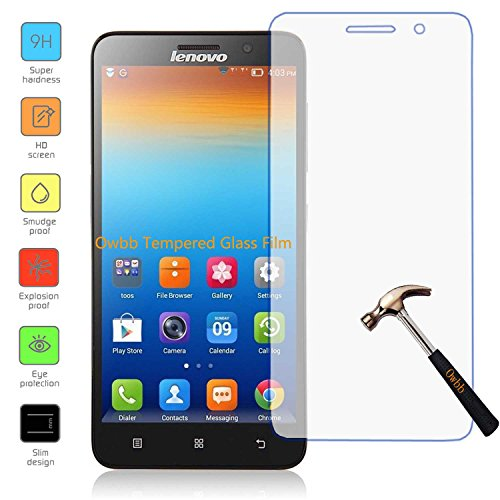 Tempered Glass For Lenovo A850 (Clear) - 9