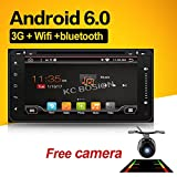 With Backup camera!!!Wifi Model 6.95'' Android 6.0 Quad-Core Car DVD Stereo for Toyota Car Support 3G Wifi Hotspots/ Bluetooth/Subwoofer/ Mirror Link/SD Card/USB/OBD2