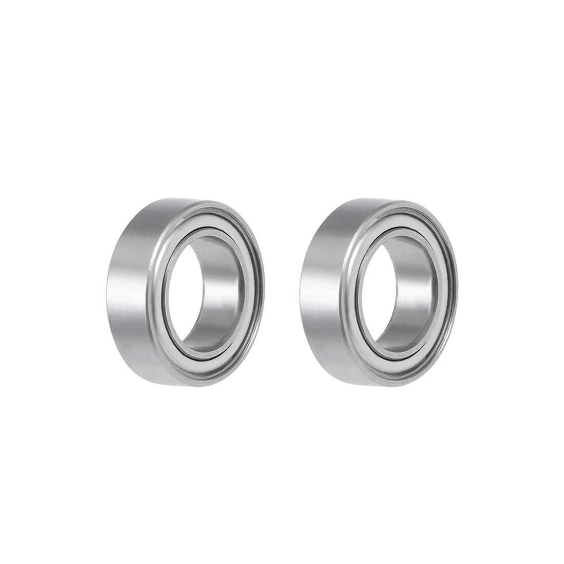 2 PCS ABEC-7 6x10x3 mm 440c Stainless Steel CERAMIC Ball Bearings SMR106-2RS