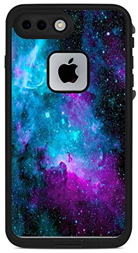 Nebula galaxy space design pattern print lifeproof fre iphone 7 plus vinyl sticker decal wrap skin