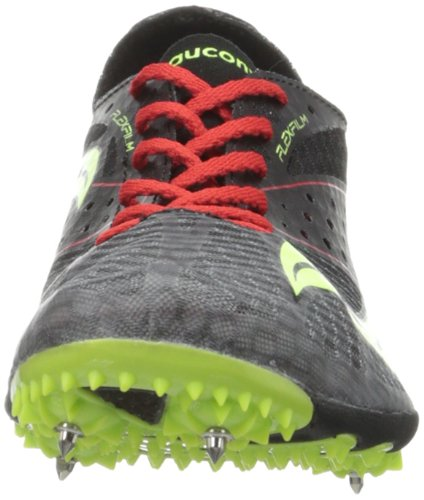 Shoe citron LD4 Saucony Track Endorphin Men's Black red PvwzYIw