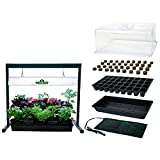 Cheap MegaGrow Indoor Seed Starter Plus with 2′ long Grow Light System