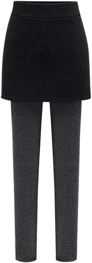 GladiolusA Mujer Leggins con Falda Pantalón Mallas Pantalones De ...