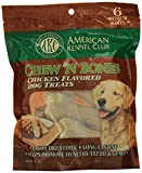 Cheap American Kennel Club Chicken Chew 'N Bones, 3.25 X 7.25 X 10-Inch