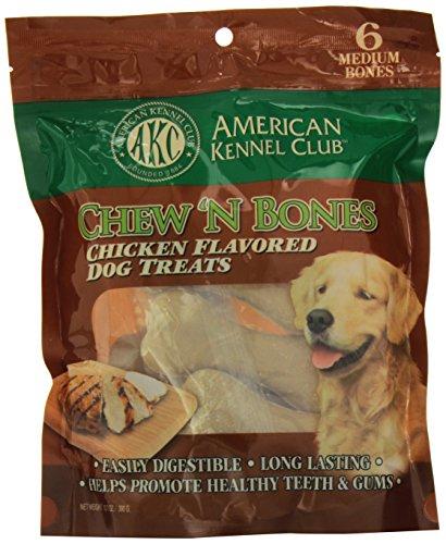 Kennel Club (American Kennel Club Chicken Chew 'N Bones, 3.25 x 7.25 x 10-Inch)