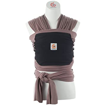 5943a26a33e Amazon.com   Ergobaby 4D Stretch Baby Wrap Carrier