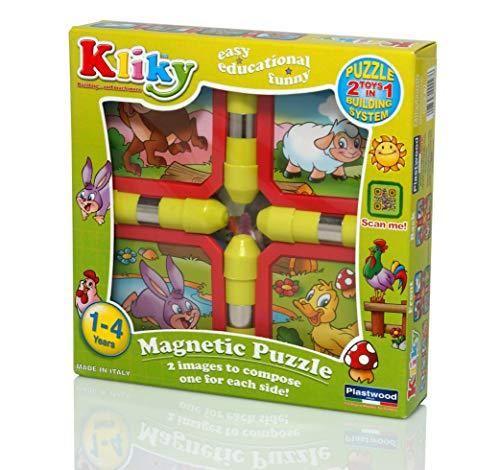 Plastwood Magnetic Puzzle