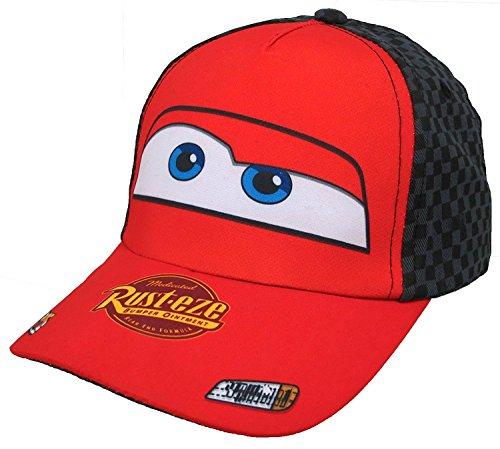 Disney Pixar Lightning McQueen Cars Boys Baseball Cap [6013] (Lightning Mcqueen Cap)