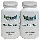 Biodesign - Aloe 225 mg 180 caps (2 Pack)