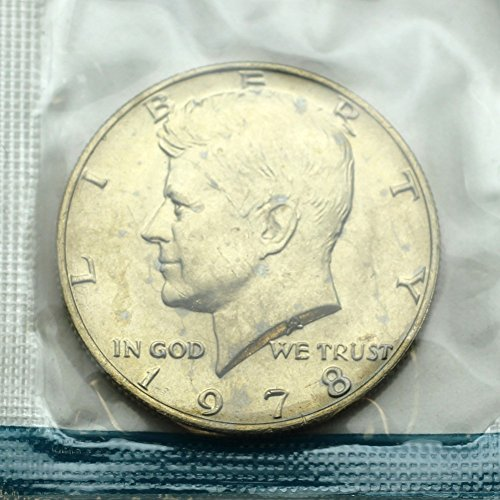1978 Kennedy Half Dollar - 20 Coins in Mint Cello - Brilliant Uncirculated