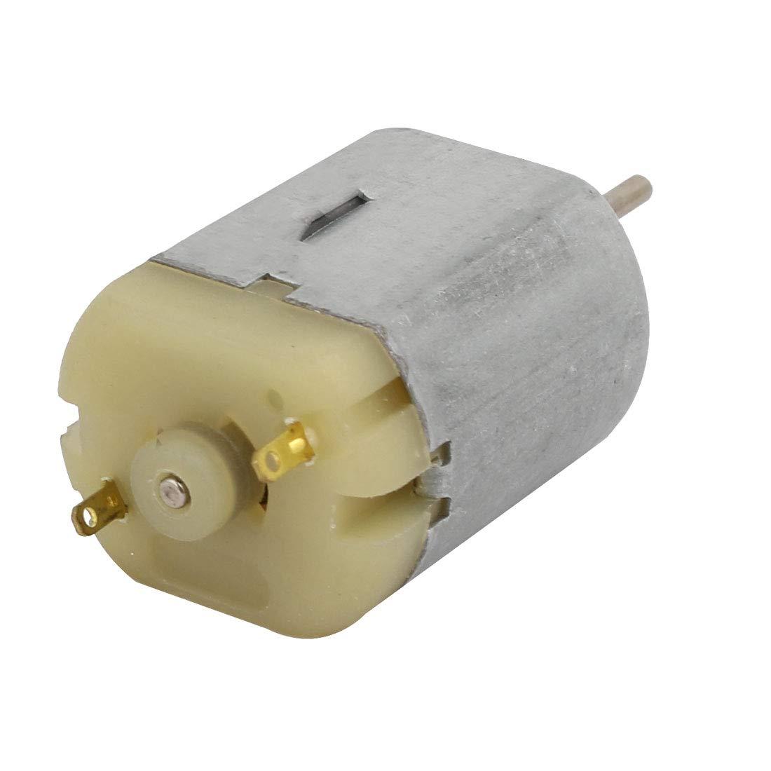 sourcing map DC 12V 2600RPM Mini Micro Motor para DIY Modelo RC coche el/éctrico