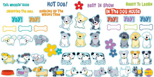 (Hot Diggity Dogs Behavior Bulletin Board Set)