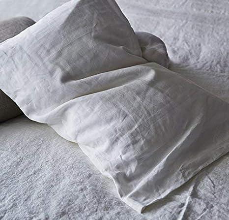 The Pillow Collection Reiki Striped Bedding Sham Denim King//20 x 36