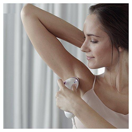 Gillette Venus Silk-expert 3 BD3001 Permanent Hair Reduction IPL, White/Purple, with Venus Razor