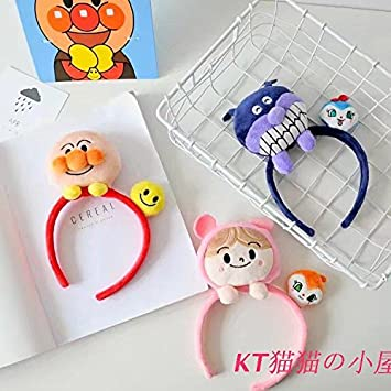 Amazon.com   Special Anpanman l germs kid sister plush doll creative hair  rope hair bands hair accessories gift for women girl lady   Beauty de277ee1a
