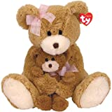 Ty Cradles - Mother's Day Bear with Small Bear