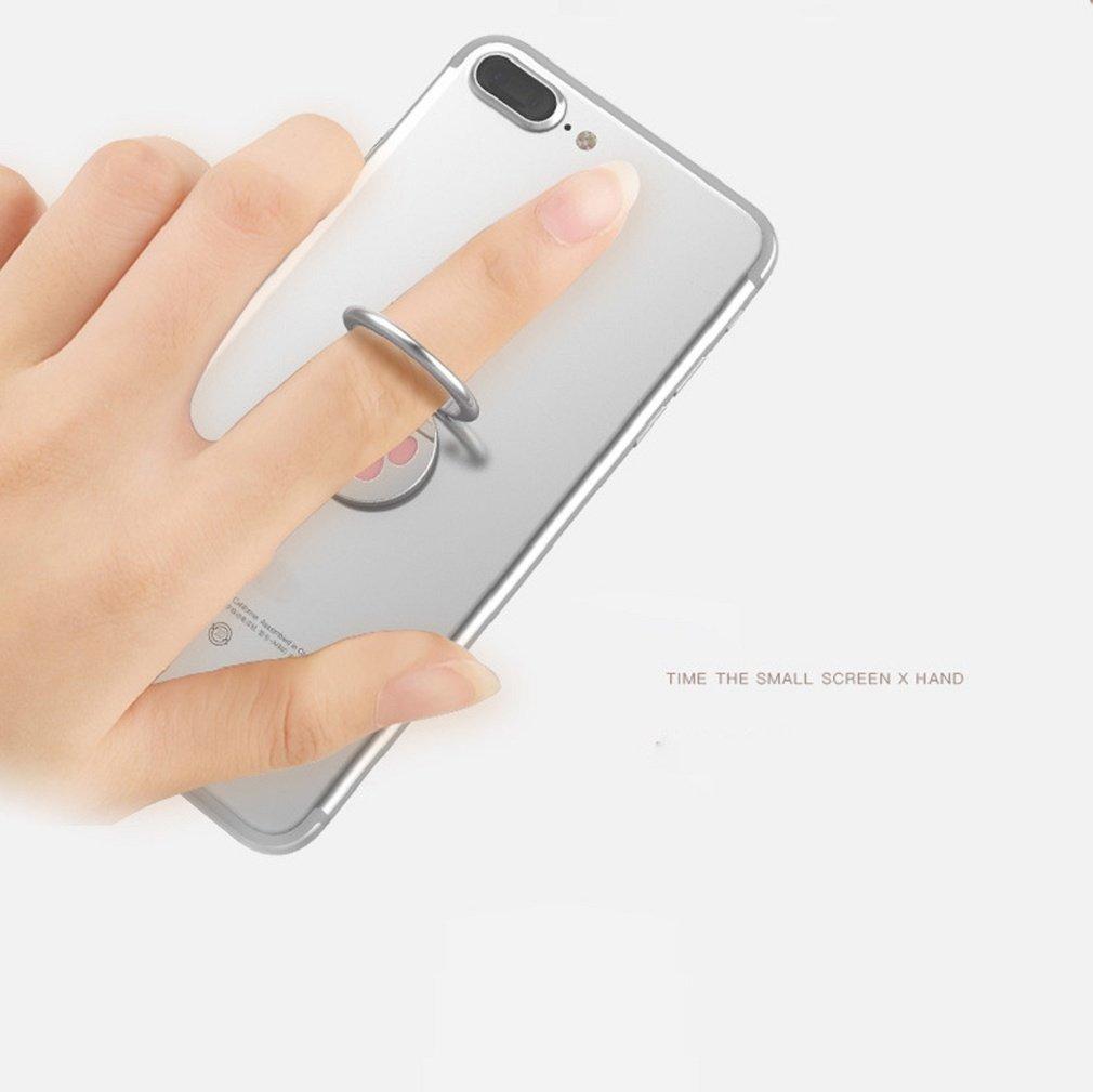 Ganenn Finger Ring Stand Holder, SUKEQ Amazing 360 Degree RotationFunny Cat Paw Finger Ring Stand Mobile Phone Holder for Smartphone (Pink) by Ganenn (Image #5)