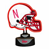 The Memory Company NCAA University of Nebraska Neon Helmet
