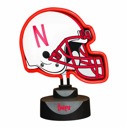 The Memory NCAA University of Nebraska Neon Helmet