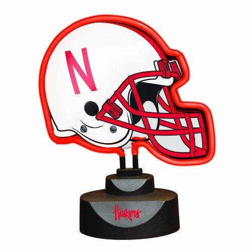The Memory Company NCAA University of Nebraska Neon Helmet