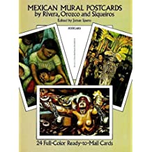 Mexican Mural Paintings by Rivera, Orozco and Siqueiros: 24 Cards