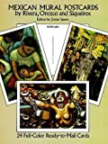 Mexican Mural Postcards by Rivera, Orozco and Siqueiros, , 0486264025
