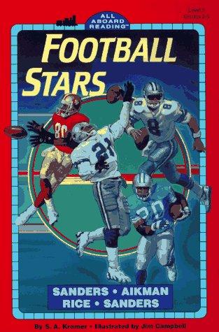 football-stars-sanders-aikman-rice-sanders-all-aboard-reading-level-3