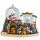 Christopher Radko It Takes a Village Snowglobe