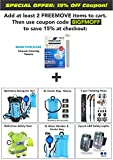 FREEMOVE Cleaning Tablets Pack of 24 – for 2 or 3 Liter Hydration bladders, Water Bottles, Travel Mugs, Thermos, Containers reservoirs, Coffee tumblers