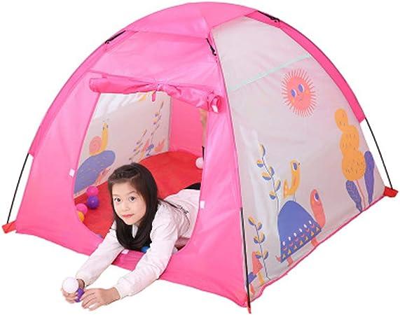 YYFZ Tiendas de campaña para niñas Jugar Tiendas de campaña Tienda de Juegos para niños casa Interior niño niña Princesa al Aire Libre pequeña Tienda niño-B: Amazon.es: Hogar