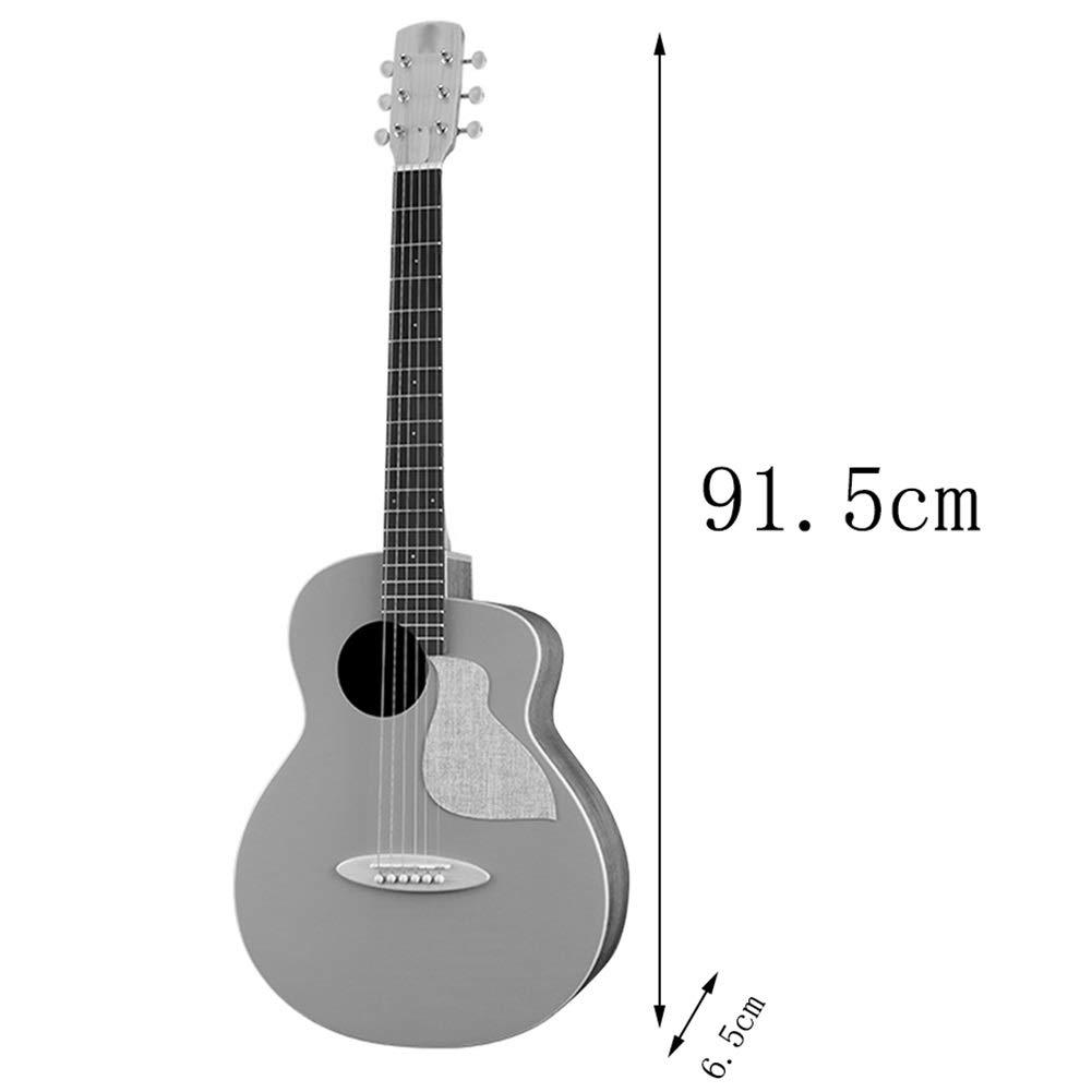 YJFENG-Guitarra Acústica,Panel De Abeto Concentración Sonora ...
