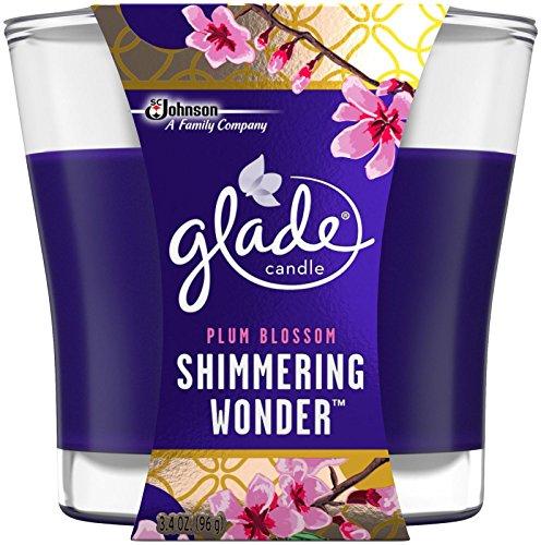 Glade Jar Candle Air Freshener, Shimmering Wonder, 3.4 Ounce