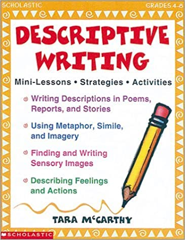 com descriptive writing grades tara com descriptive writing grades 4 8 0078073209323 tara mccarthy books