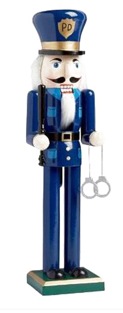 Gift For A Police Officer 15 Inch Policeman Nutcracker Nantucket Home