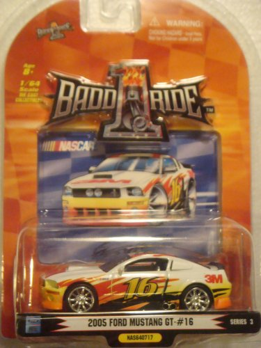 Bakupearl Starter Pack - Promark 2007 1/64th Scale Greg Biffle #16 3M 2005 FORD MUSTANG GT Series 3 BADD-1-RIDE
