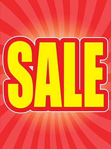Sale 18''x24'' Store Business Retail Promotion Signs by Accent Printing & Signs