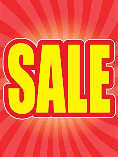 Window Retail Sign - Sale 18