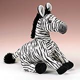 "Zebra Stuffed Animal Plush Toy 14"" H"