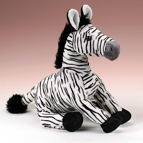 Amazon Com Wildlife Artists Zebra Stuffed Animal Plush Toy 14 H