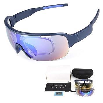NGB Ciclismo Gafas de Sol Deportes Gafas de Moda Unisex ...